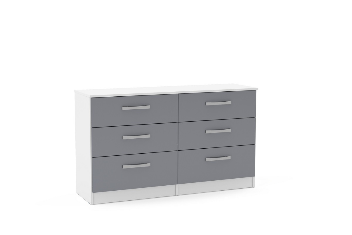 Lynx 6 Drawer Chest Assembly Instructions (Birlea)