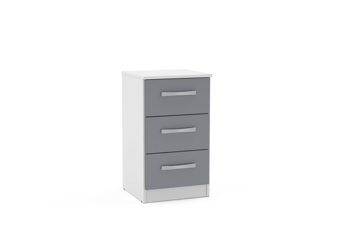 Lynx 3 Drawer Bedside Assembly Instructions (Birlea)