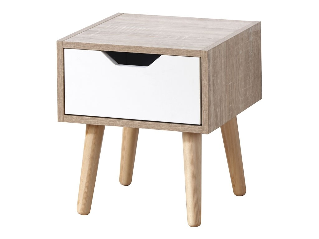 Stockholm 1 Drawer Bedside Assembly Instructions (GFW)