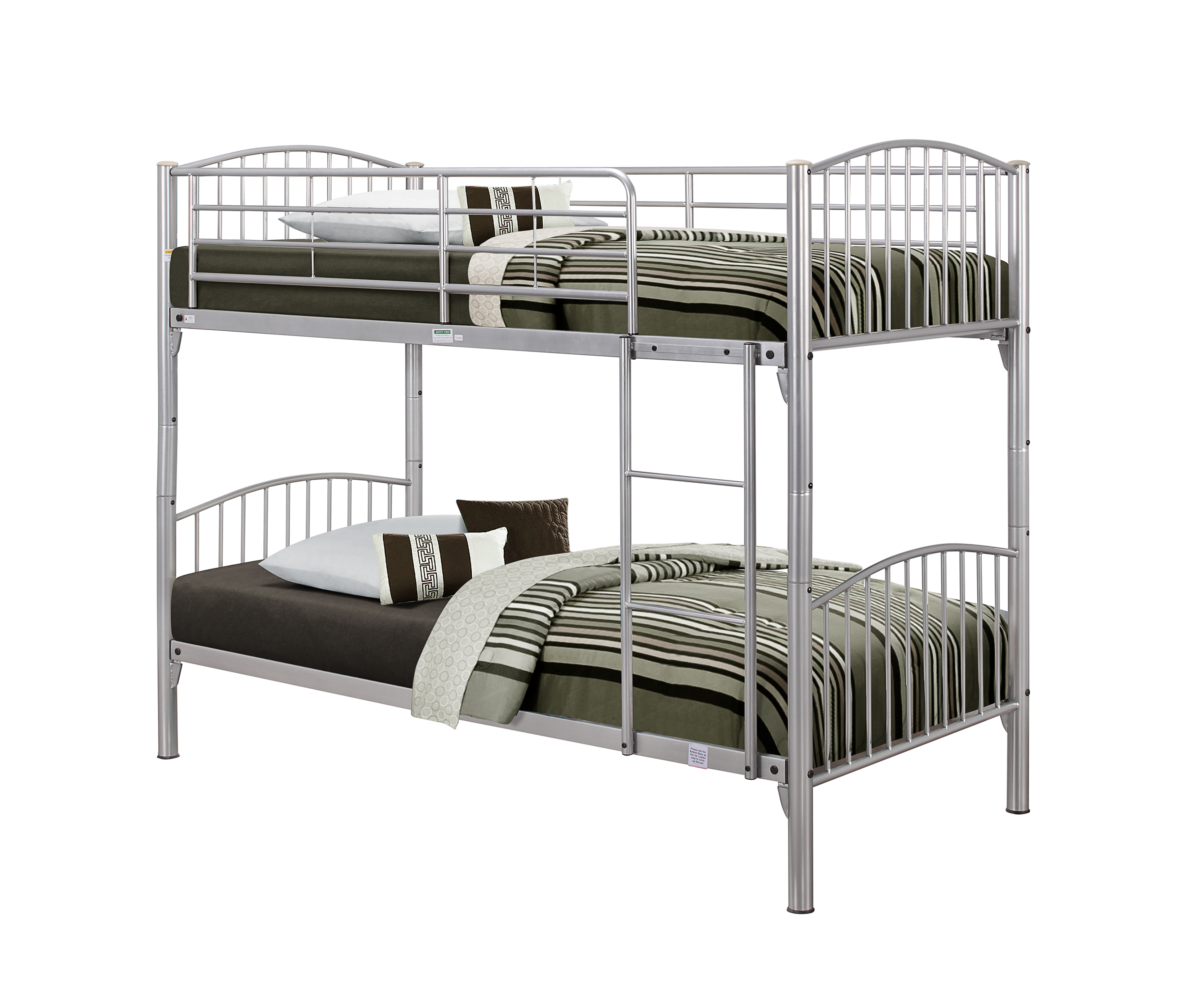 Corfu Metal Bunk Bed Assembly Instructions (Birlea)