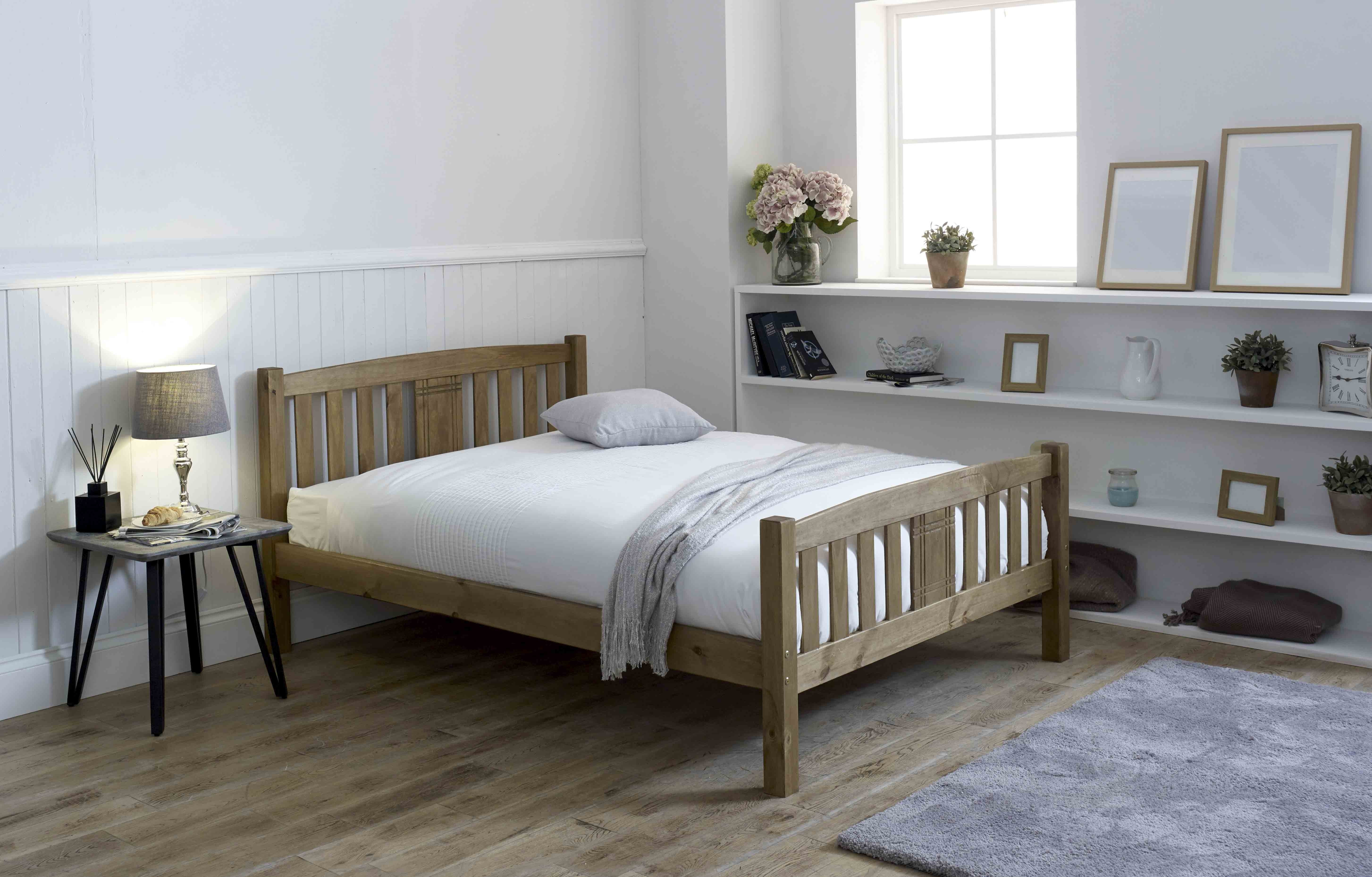 Sedna Wooden Bed Frame Assembly Instructions (Limelight)