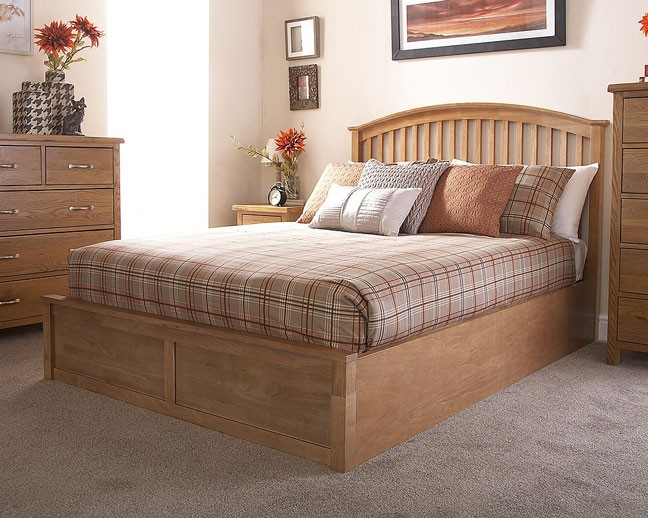 Madrid Wooden Ottoman Bed Assembly Instructions (GFW)