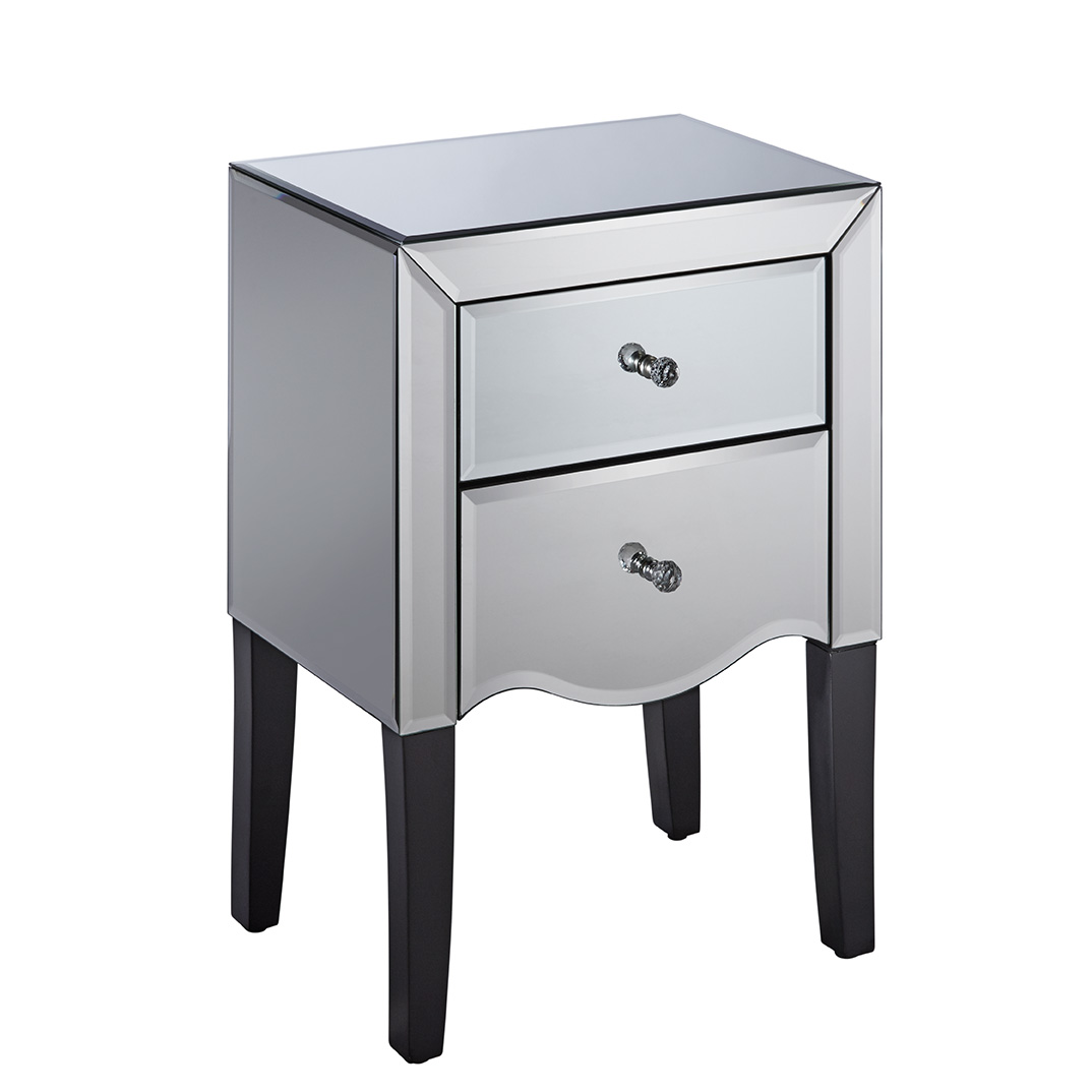 Palermo 2 Drawer Bedside Table Assembly Instructions (Birlea)