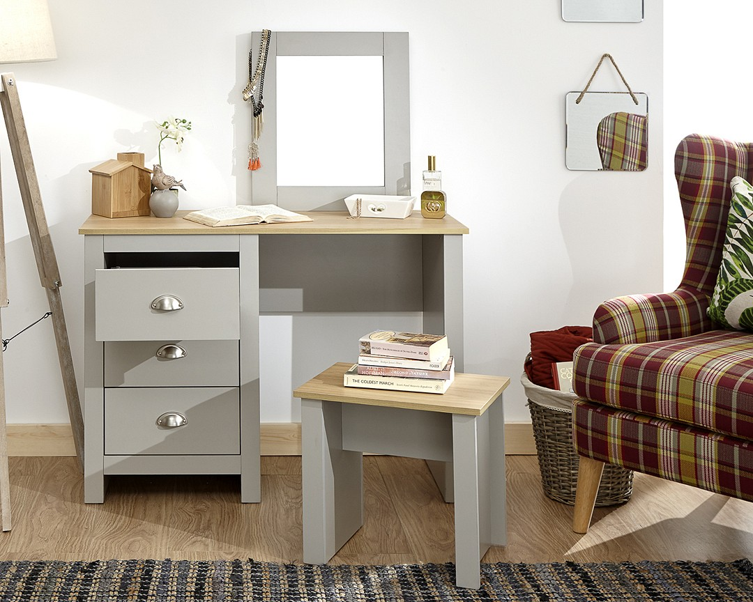 Lancaster Dressing Table Assembly Instructions (GFW)