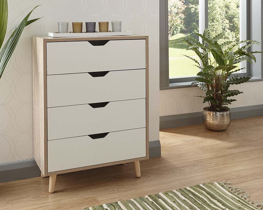 Stockholm 4 Drawer Chest Assembly Instructions (GFW)