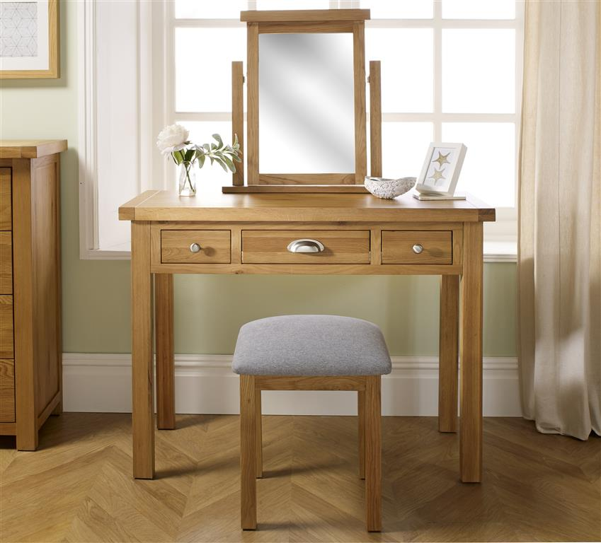 Woburn Dressing Table Assembly Instructions (Birlea)
