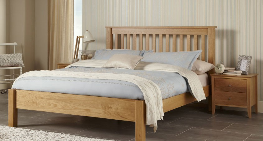 Lincoln Oak Bed Frame Assembly Instructions (Serene)