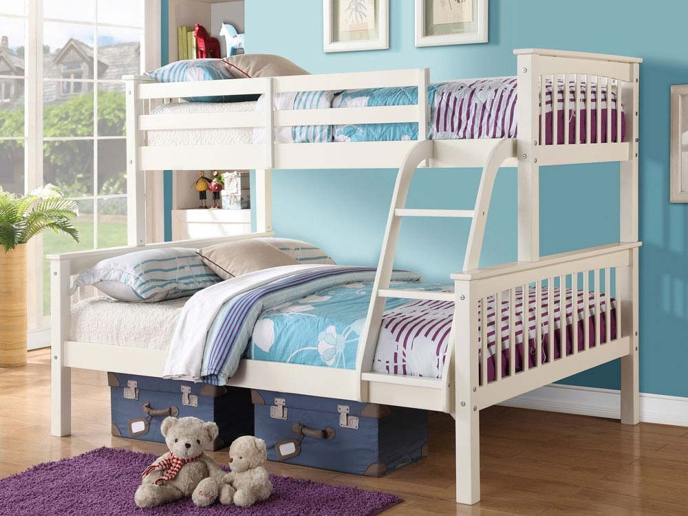 Novaro Triple Bunk Bed Assembly Instructions (GFW)