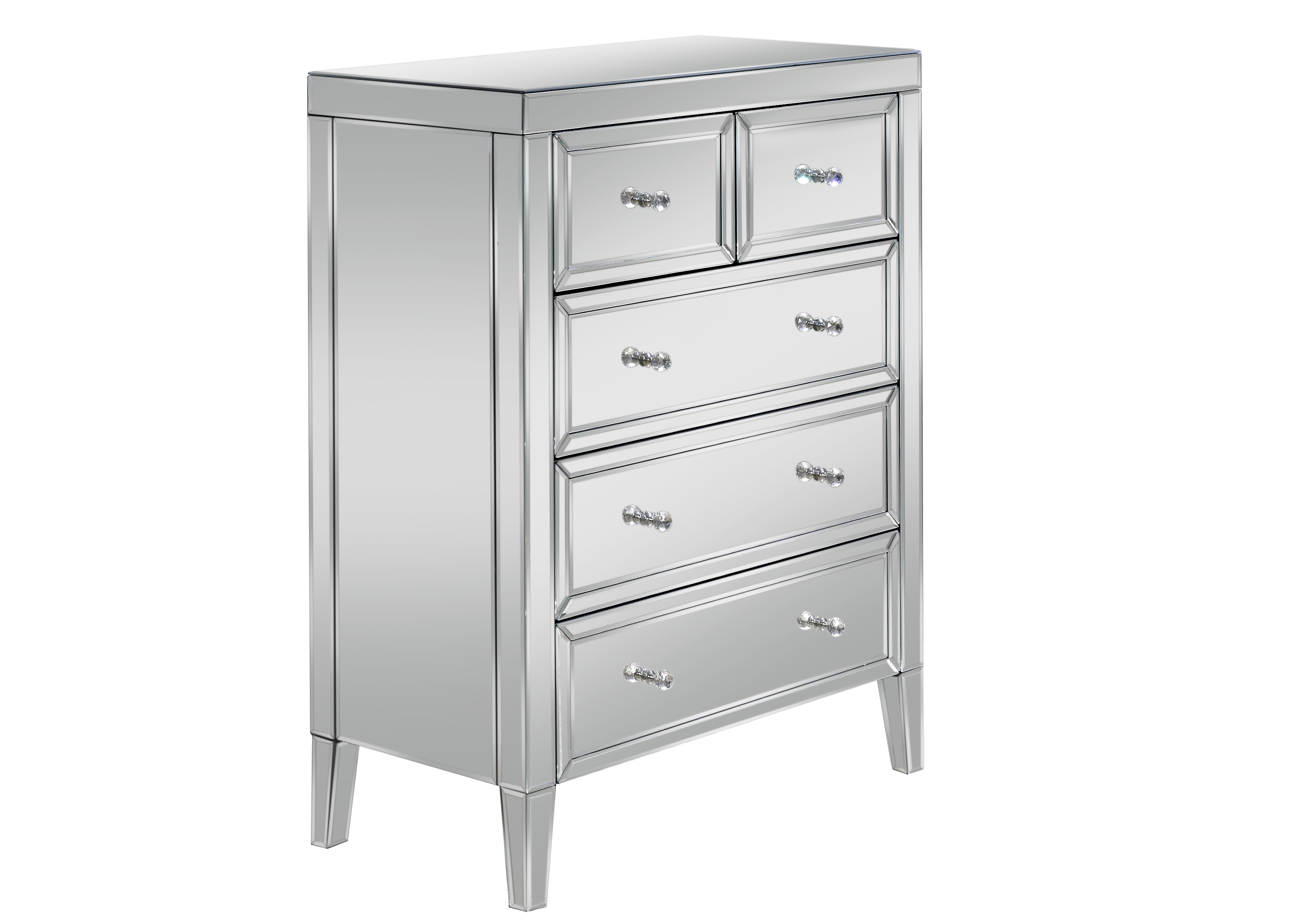 Valencia 3 + 2 Drawer Chest Assembly Instructions (Birlea)